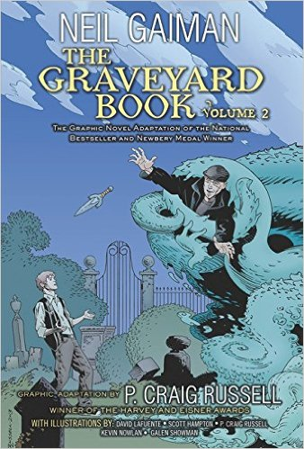 The Graveyard Book Graphic Novel Vol. 2 TP review