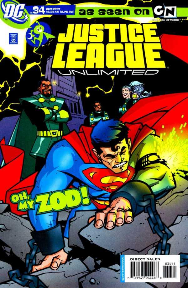 Justice League Unlimited #34