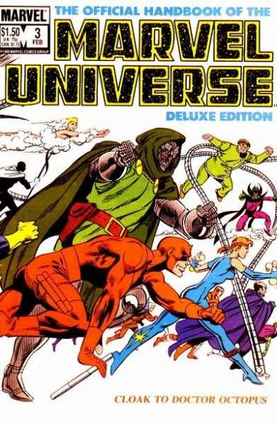 The Official Handbook of the Marvel Universe #3
