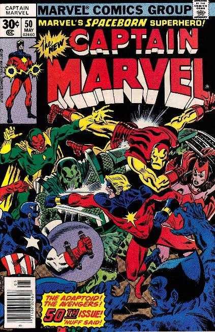 Captain Marvel #50