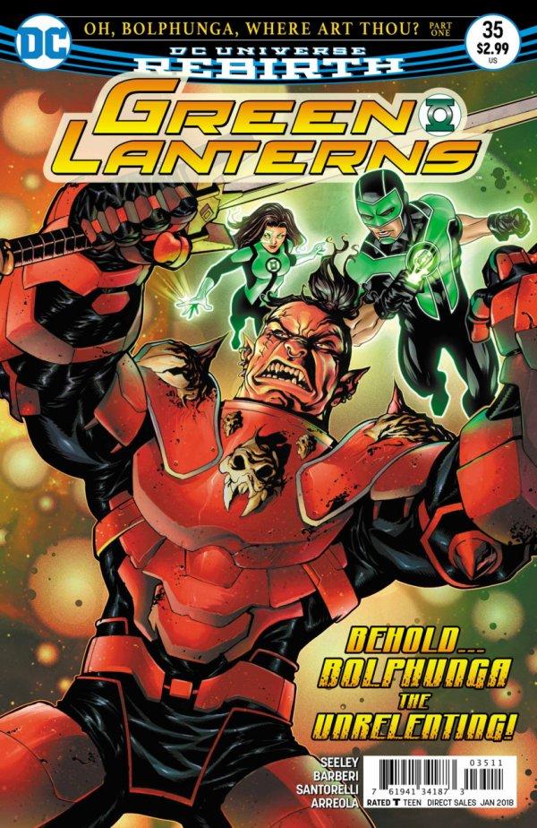 Green Lanterns #35
