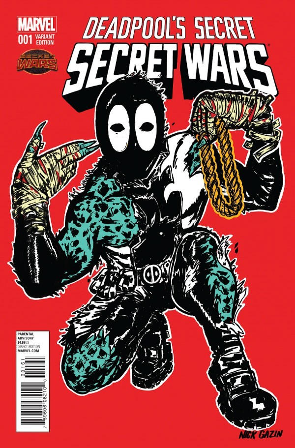 Deadpool's Secret Secret Wars #1