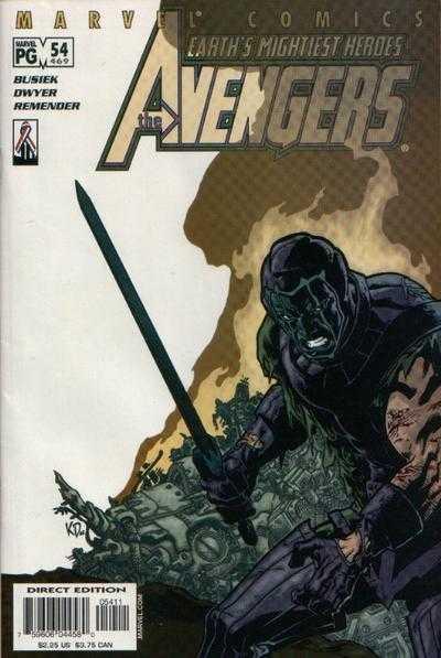 The Avengers #54