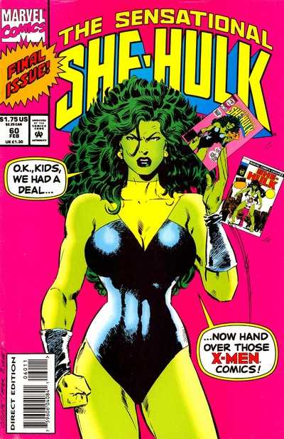 The Sensational She-Hulk #60