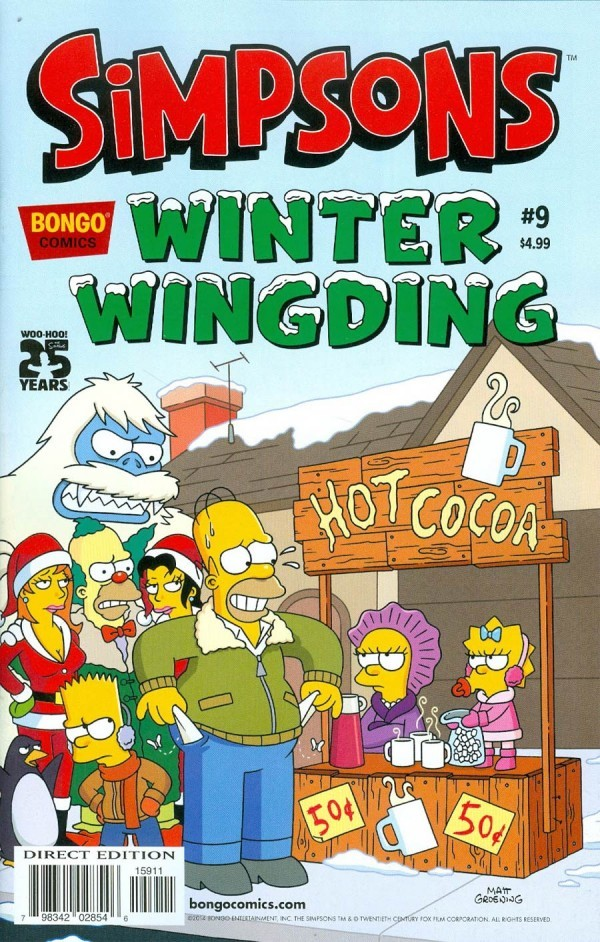 The Simpsons: Winter Wingding #9