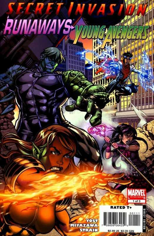 Secret Invasion: Runaways / Young Avengers #1