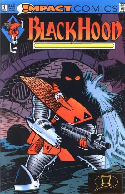 The Black Hood #1