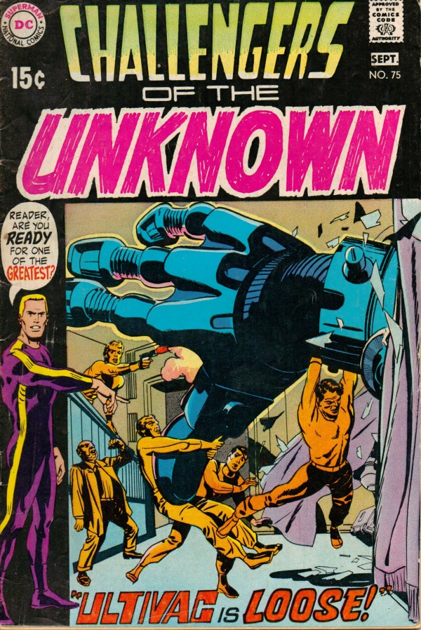 Challengers of the Unknown #75
