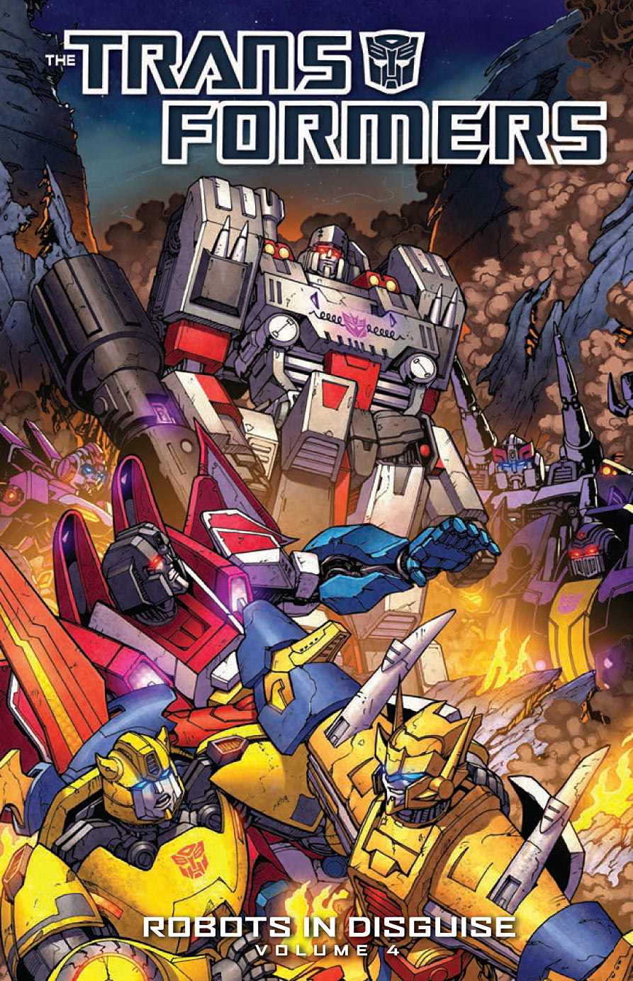 The Transformers: Robots in Disguise Vol. 4 TP