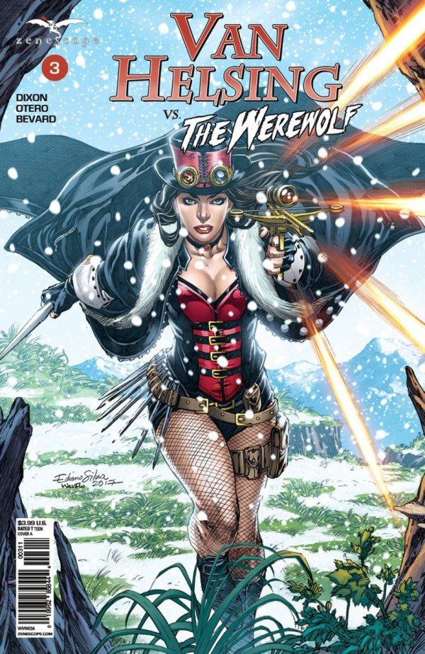 Van Helsing vs. The Werewolf #3