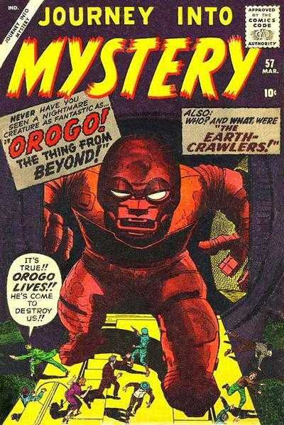 Journey into Mystery #57
