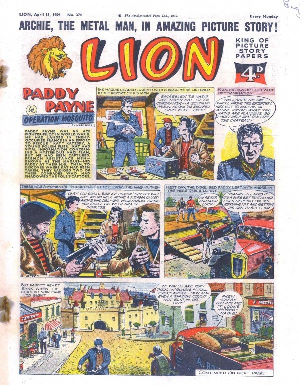 Write a Review for Lion #374 | League of Comic Geeks