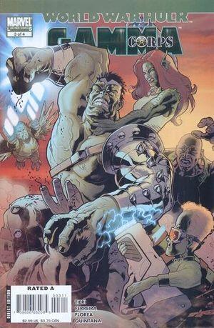 World War Hulk: Gamma Corps #3