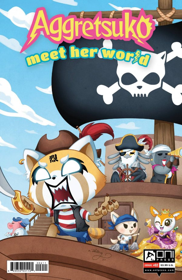 Aggretsuko Meet Her World #2
