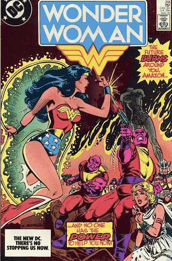Wonder Woman #318