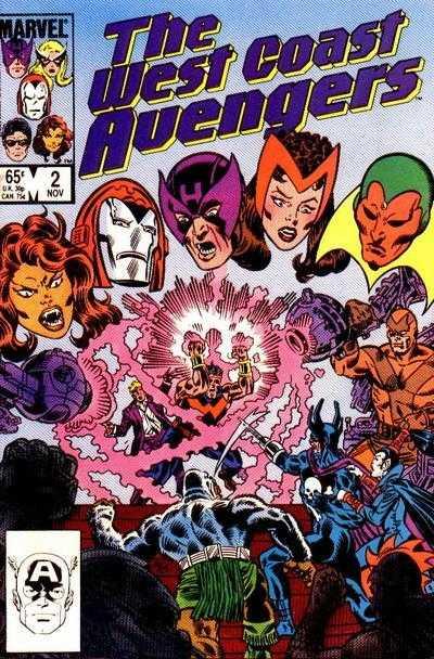 The West Coast Avengers #2