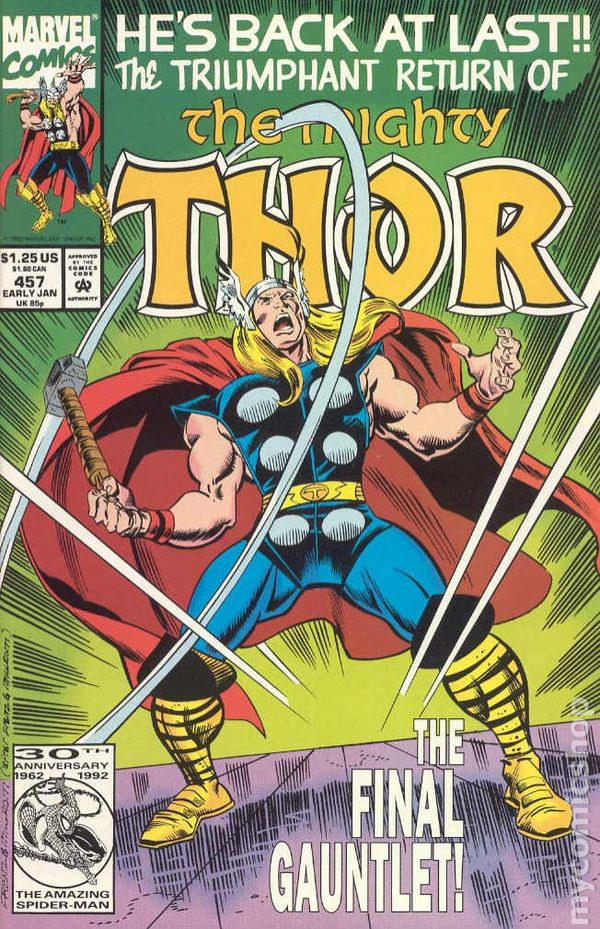 The Mighty Thor #457