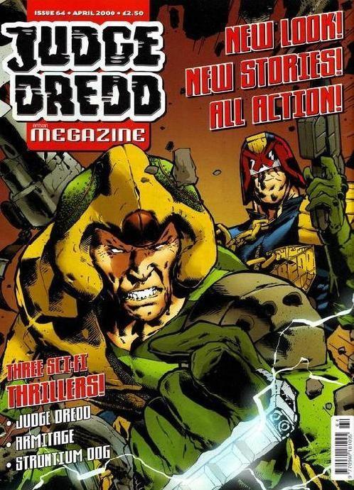 Judge Dredd Megazine #64