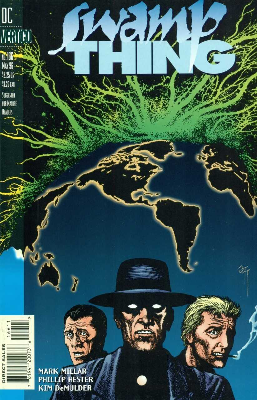 The Saga of the Swamp Thing #166