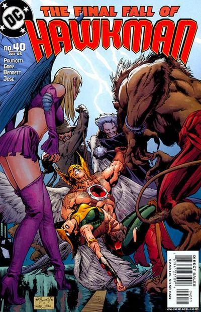 Hawkman #40