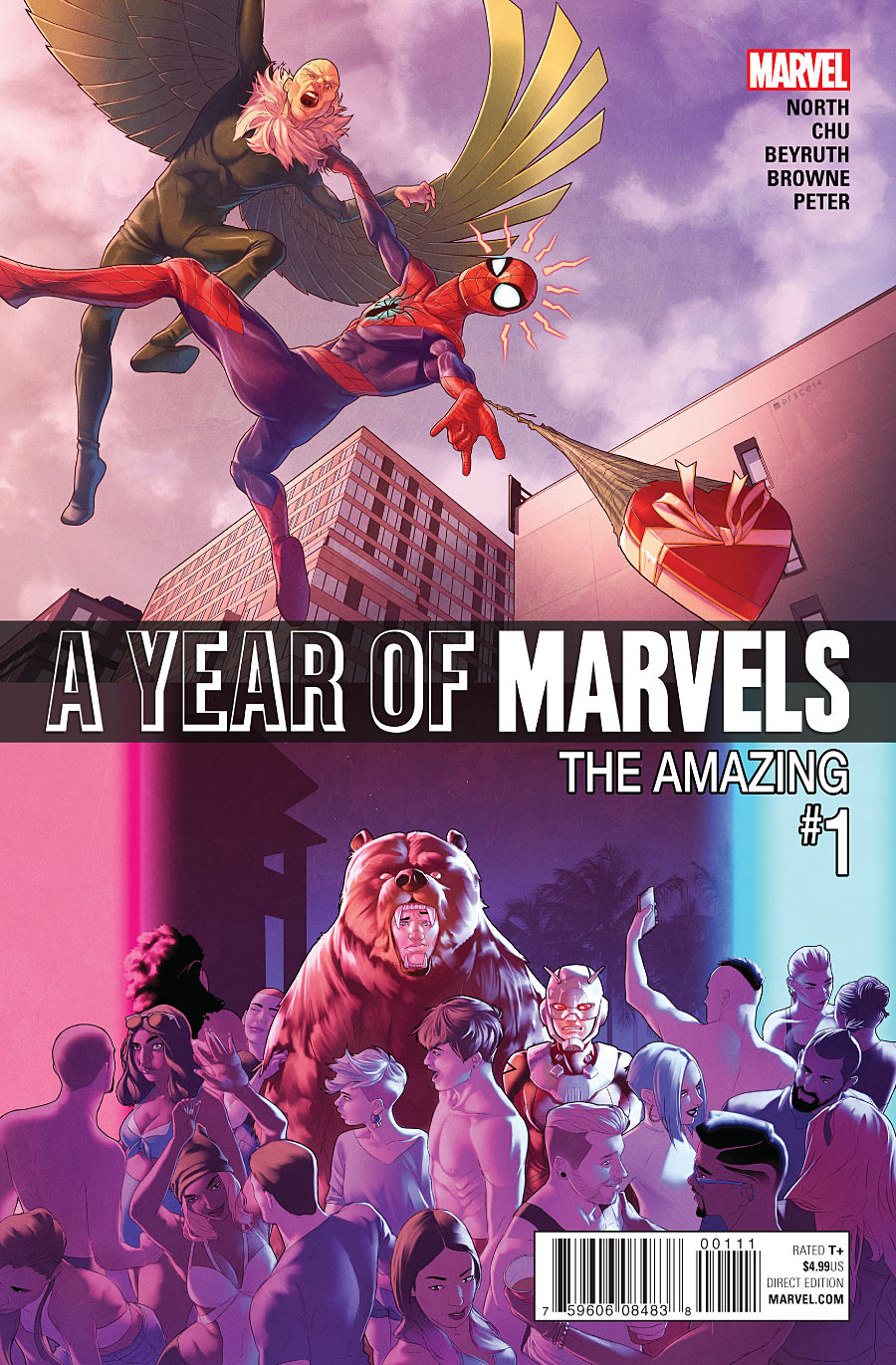 A Year of Marvels: The Amazing #1
