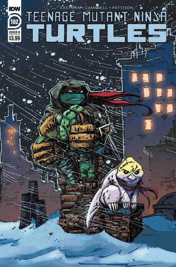 Teenage Mutant Ninja Turtles #102