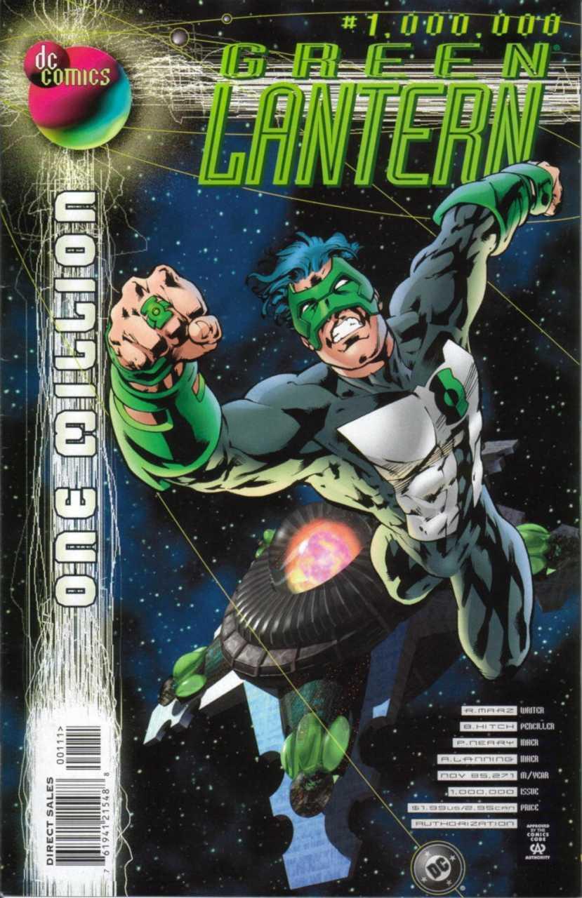 Green Lantern #1000000