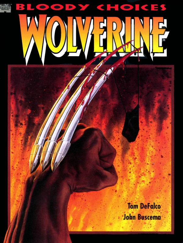 Marvel Graphic Novel #67 Wolverine: Bloody Choices