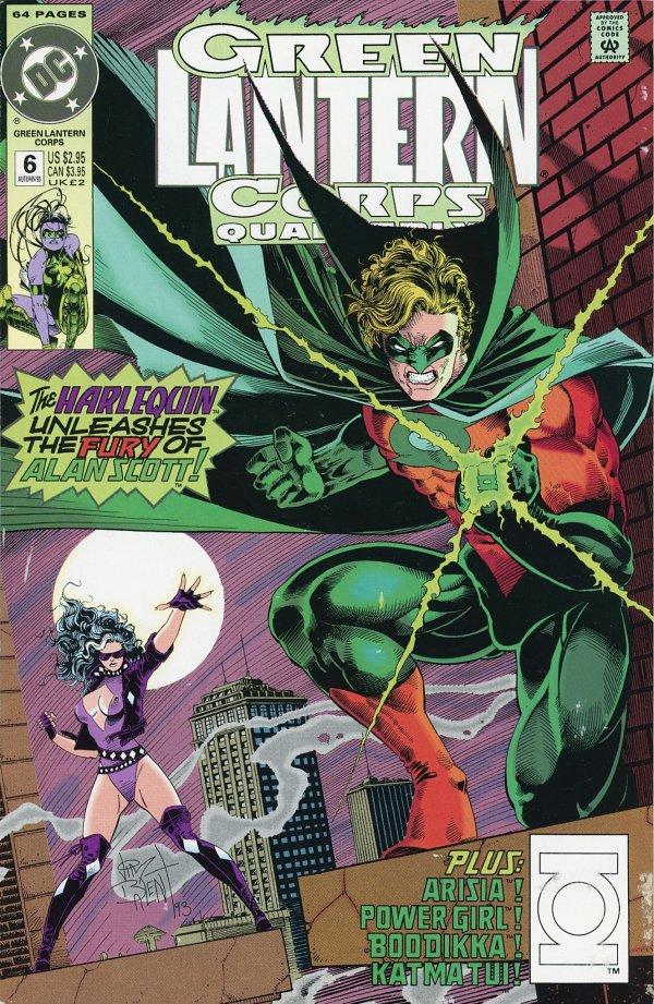 Green Lantern Corps Quarterly #6