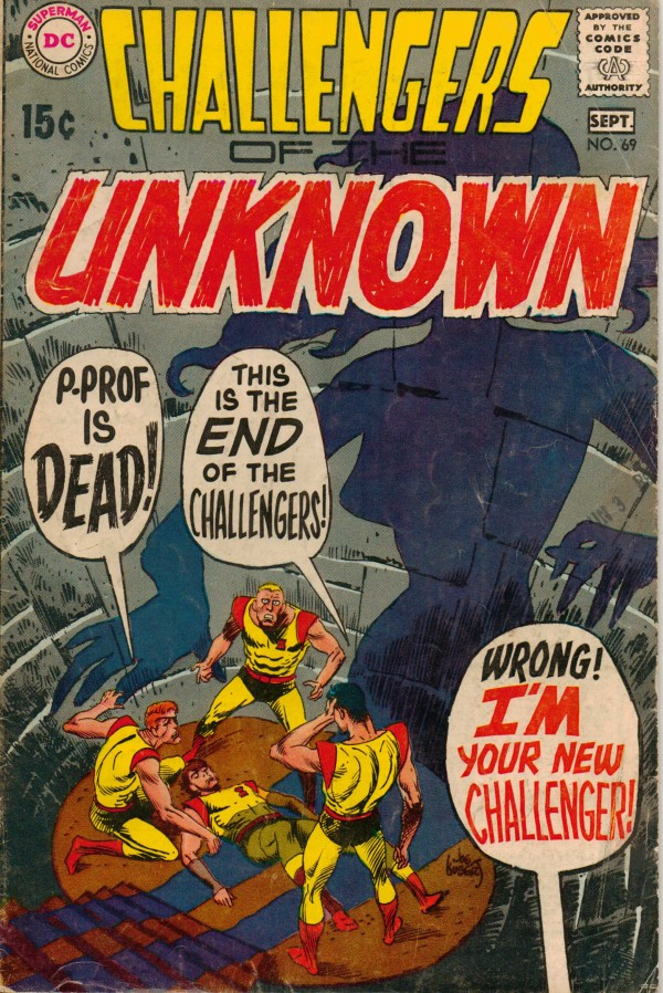 Challengers of the Unknown #69