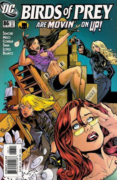 Birds of Prey #86