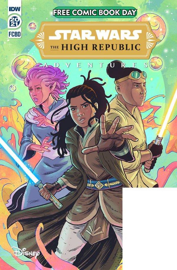 Free Comic Book Day 2021 : Star Wars High Republic Adventures #1
