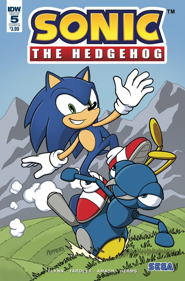 Sonic the Hedgehog #5