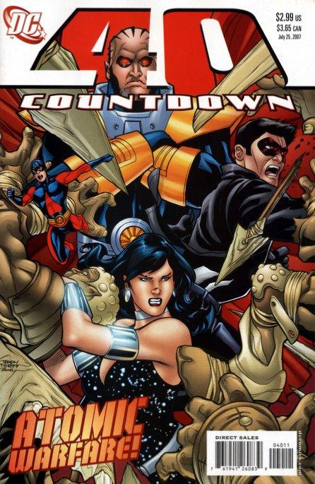 Countdown to Final Crisis #40