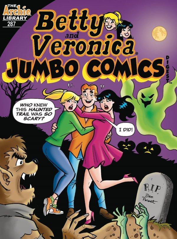Betty and Veronica Jumbo Comics Digest #287