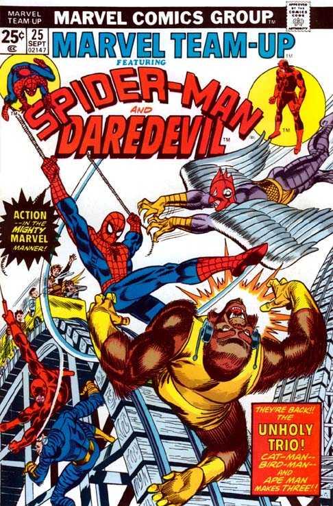 Marvel Team-Up #25