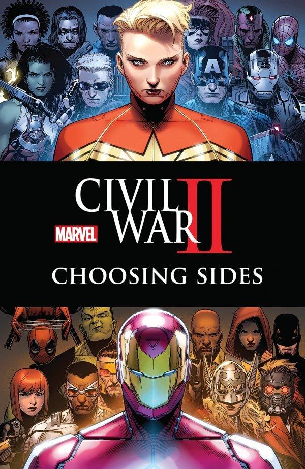 Civil War II: Choosing Sides TP