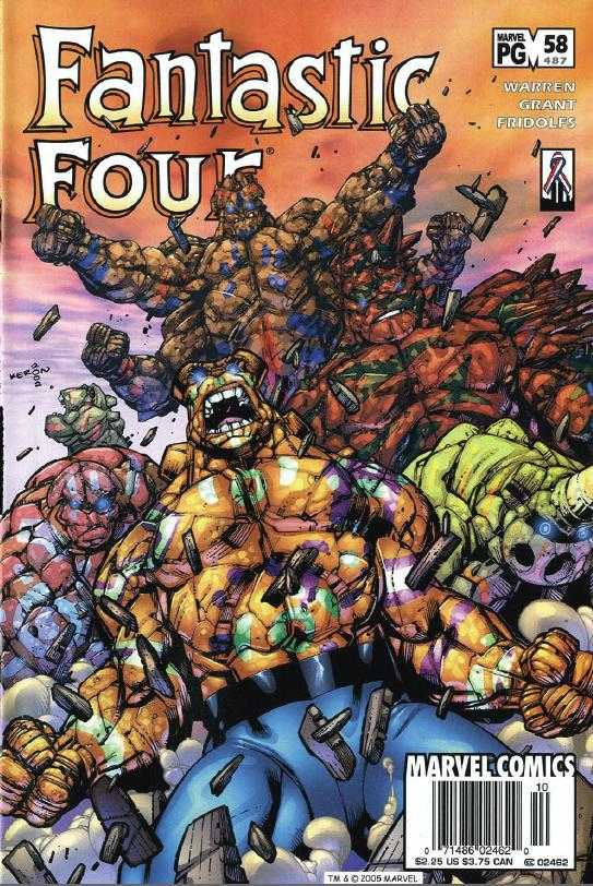 Fantastic Four #58