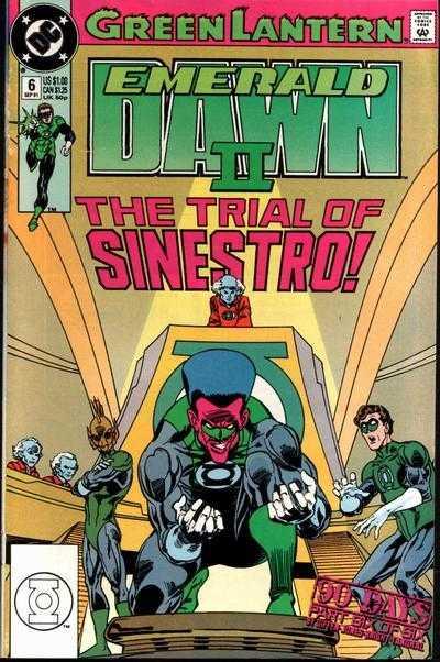 Green Lantern: Emerald Dawn II #6