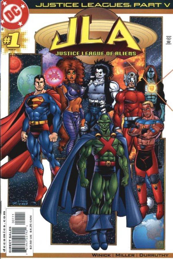Justice Leagues: Justice League of Aliens #1