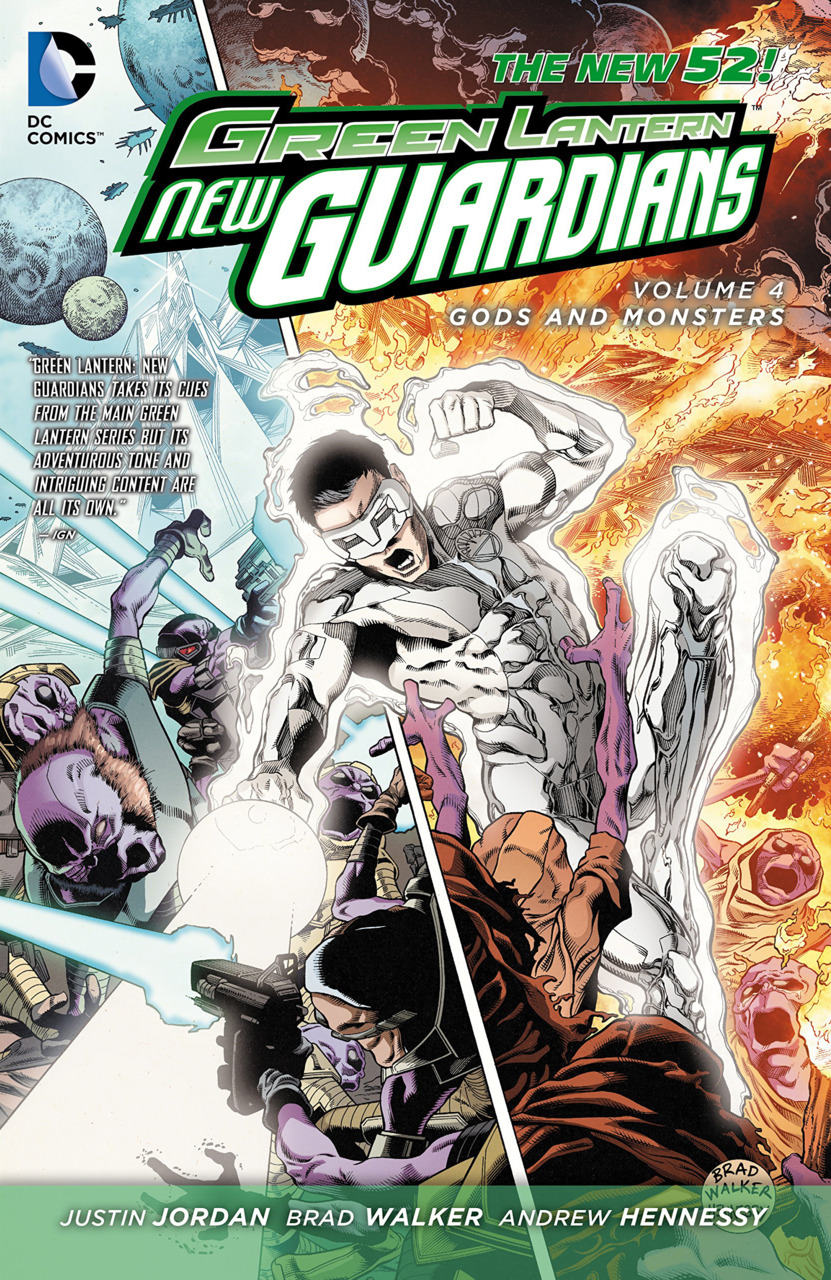 Green Lantern: New Guardians Vol. 4: Gods and Monsters TP