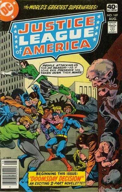 Justice League of America #169