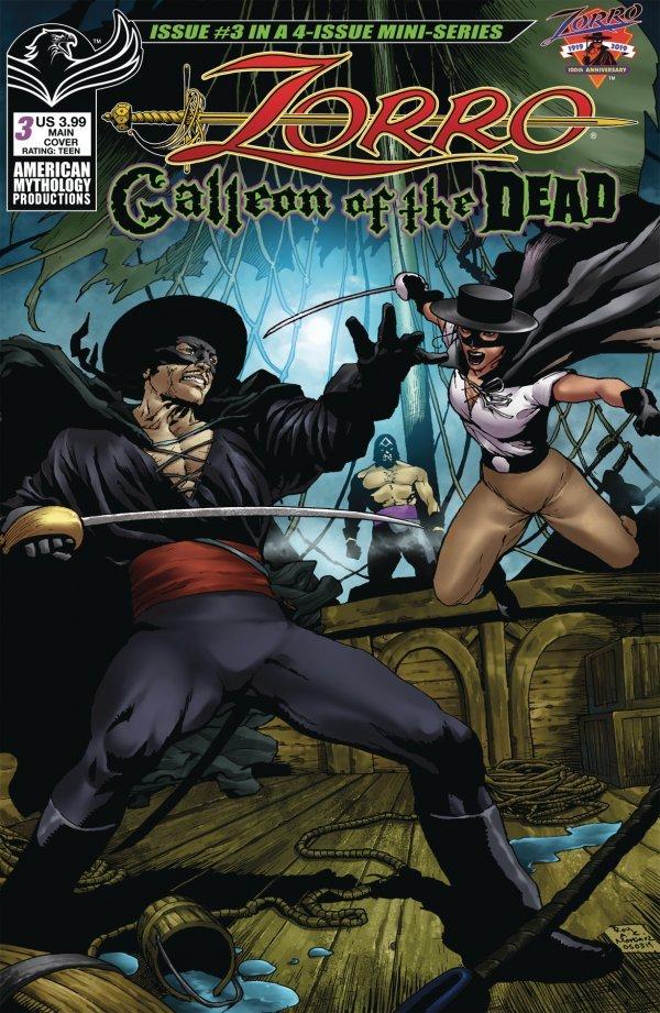 Zorro: Galleon of the Dead #3