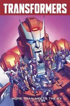 Transformers: More Than Meets the Eye Vol. 8 TP