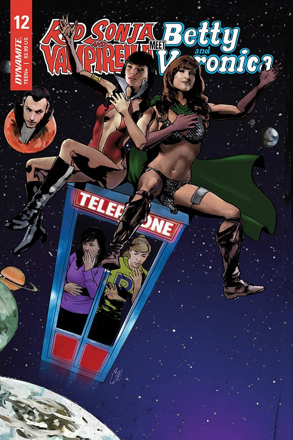 Red Sonja & Vampirella Meet Betty & Veronica #12