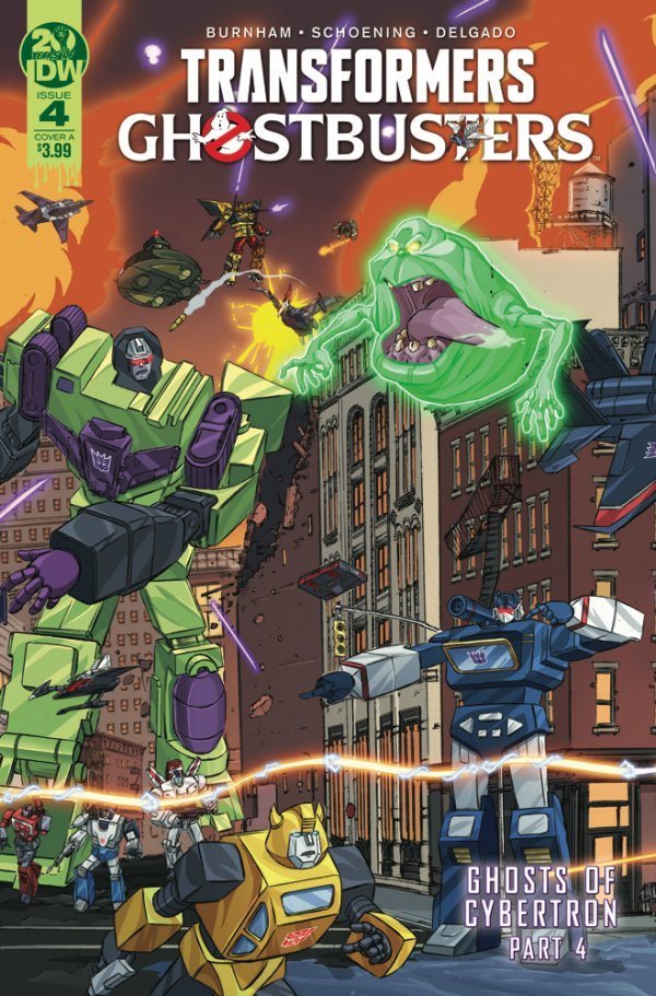 Transformers / Ghostbusters #4