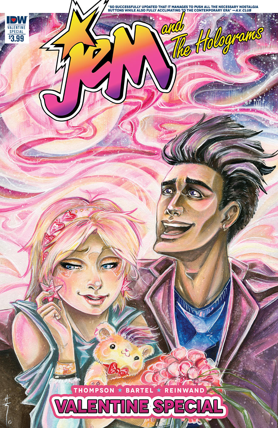 Jem and The Holograms Valentine Special #1