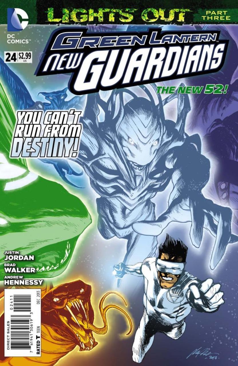 Green Lantern: New Guardians #24