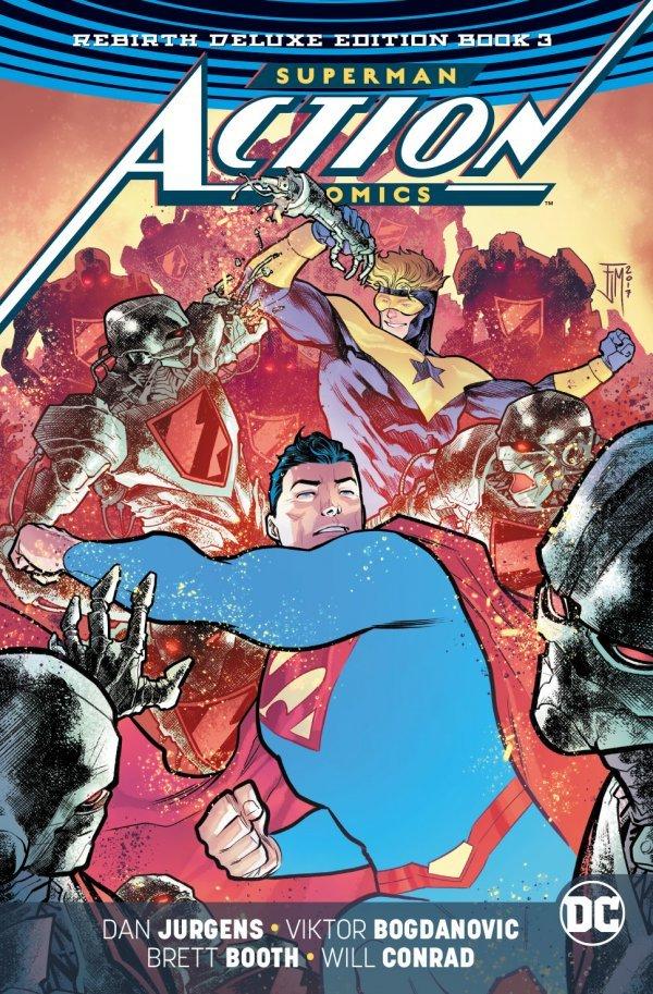 Action Comics: Rebirth Deluxe Edition Book 3 HC