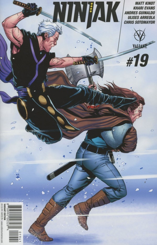 Ninjak #19
